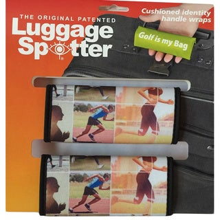 Luggage Spotter Neoprene Fun and Colorful Handle Wraps (Set of 2)