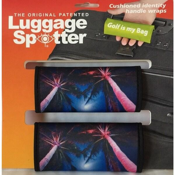 Luggage Spotter Colorful Neoprene Luggage Handle Wraps (Set of 2)