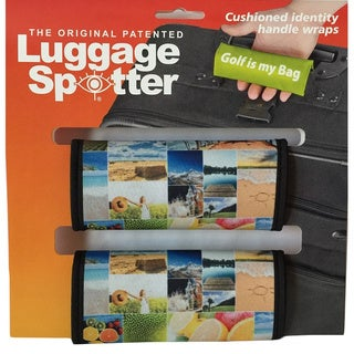 Luggage Spotter Neoprene Colorful Handle Wraps (Set of 2)