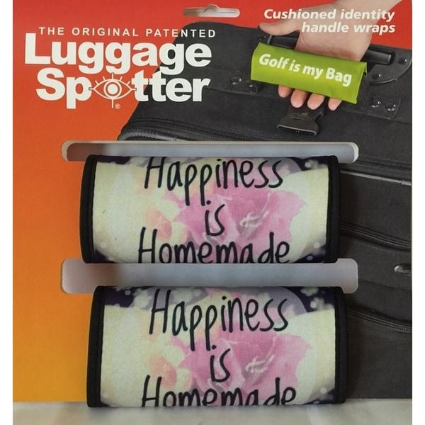 Luggage Spotter Colorful Neoprene Handle Wraps (Set of 2)
