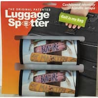 Luggage Spotter Neoprene Colorful Handle Wraps (Set of 2)