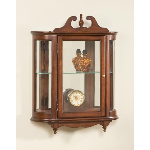 Butler Melinda Plantation Cherry Wall Curio - Dark Brown