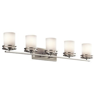 Kichler Lighting Hendrik Collection 5-light Brushed Nickel Bath/Vanity Light