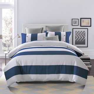 Superior Addison 300 Thread Count Cotton 3-piece Duvet Cover Set
