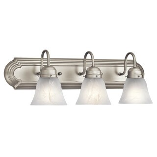 Kichler Lighting Utilitarian 3-light Brushed Nickel Bath/Vanity Light