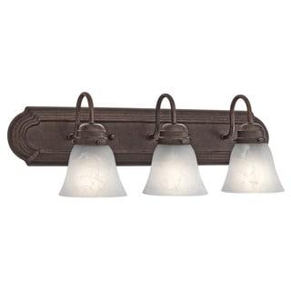 Kichler Lighting Utilitarian 3-light Tannery Bronze Bath/Vanity Light