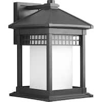 Progress Lighting P6002-31 Merit Black Aluminum 11-inch 1-light Wall Lantern