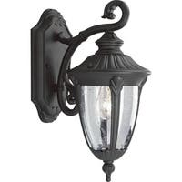 Progress Lighting P5820-31 Meridian Black Aluminum 1-light Wall Lantern