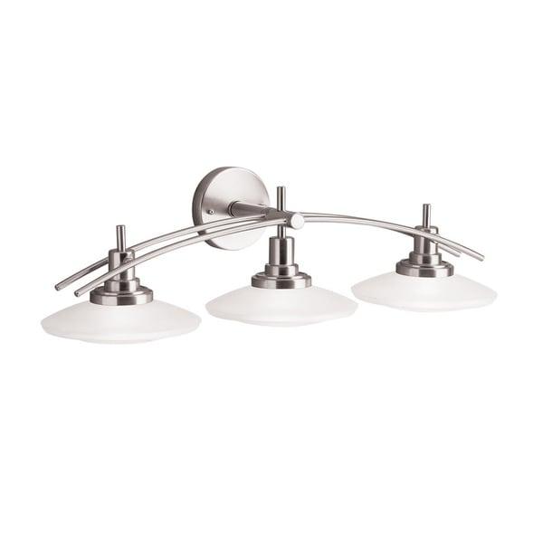Kichler Fixtures: Shop Kichler Lighting Structures Collection 3-light