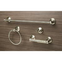 Sure-Loc Square 4-piece Bathroom Accessory Set