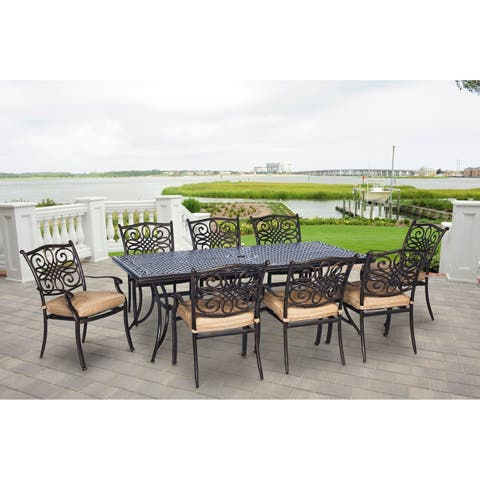 Hanover Outdoor TRADDN9PC Traditions 9-piece Dining Set