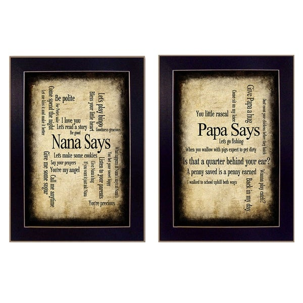 Shop Nanapapa Collection By Susan Ball Printed Wall Art Ready