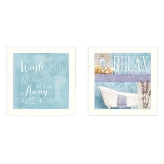 """Dee Dee """"Wash"""" Set of 2 Framed Art Prints"""