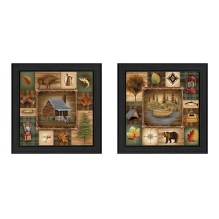 """Up North"" by Ed Wargo Printed Framed Wall Art"