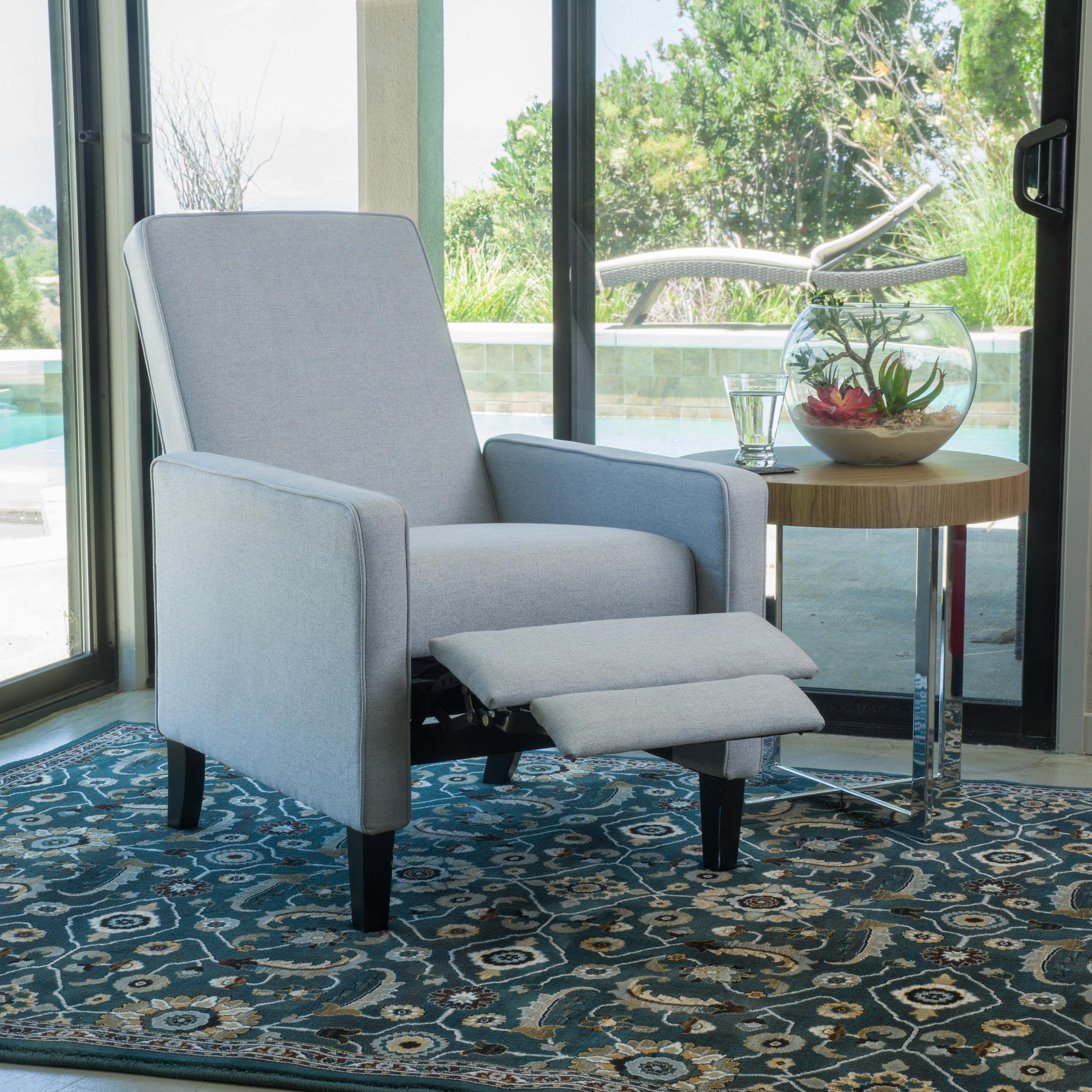 Enjoyable Dalton Fabric Recliner Club Chair By Christopher Knight Home Customarchery Wood Chair Design Ideas Customarcherynet