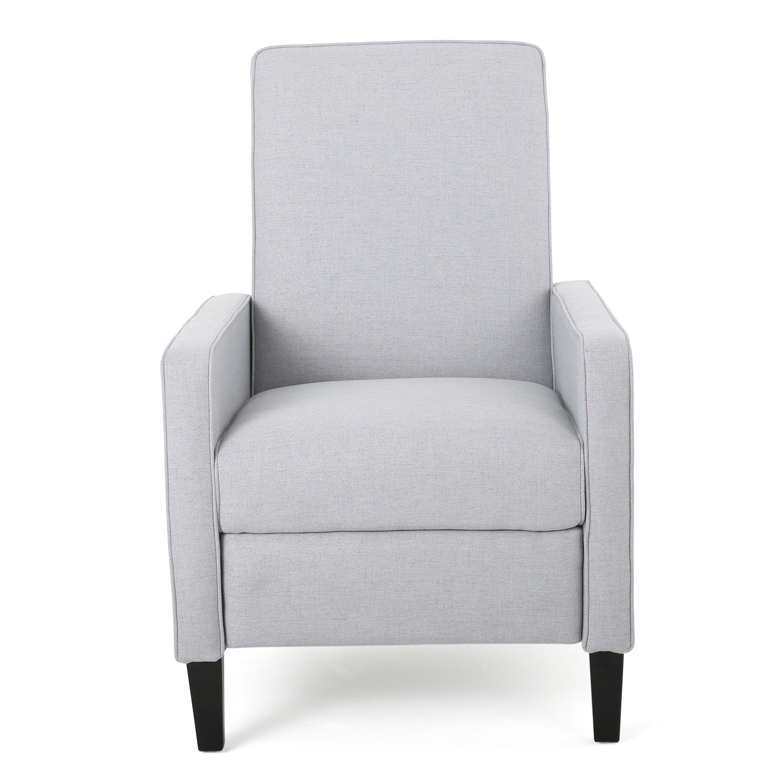 Delightful Dalton Fabric Recliner Club Chair By Christopher Knight Home (Option: Light  Grey)