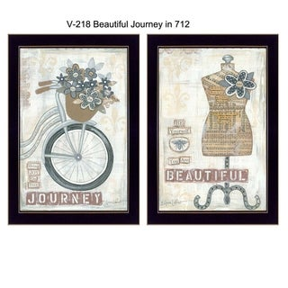"""Beautiful Journey"" by Annie LaPointe Printed Framed Wall Art"