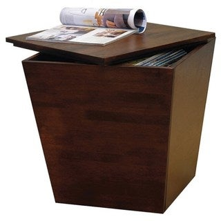 Winsome Mesa Home Office Indoor Storage Cube End Table
