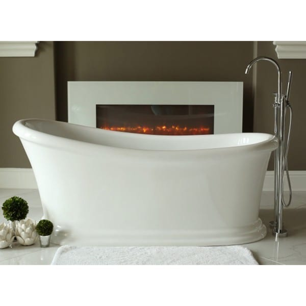 Shop Signature Bath Journey Freestanding Tub - Ships To Canada ...