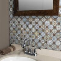 SomerTile 12.25x12.25-inch Tesseract Multi Ceramic Floor and Wall Tile (13 tiles/14.11 sqft.)
