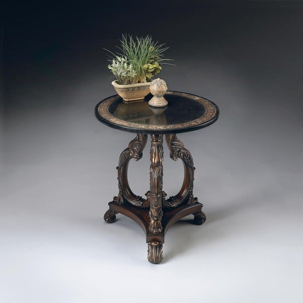 Shop Handmade Butler Fossil Stone End Table (Philippines