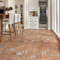 SomerTile 11x22.125-inch Roland Beige Porcelain Floor and Wall Tile (7 tiles/12.24 sqft.)