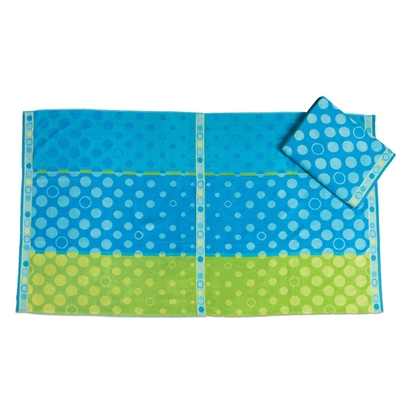 Bubble Up Oversized Beach Towel (set of 2)