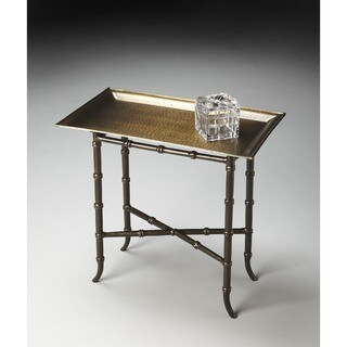 Butler Metalworks Brown Aluminum Tray Table