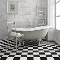 SomerTile 17.625x17.625-inch Verifique Ceramic Floor and Wall Tile (5 tiles/11.02 sqft.)