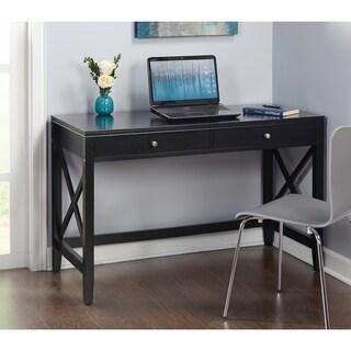 Simple Living Anderson X Desk (Option: Black - Painted)