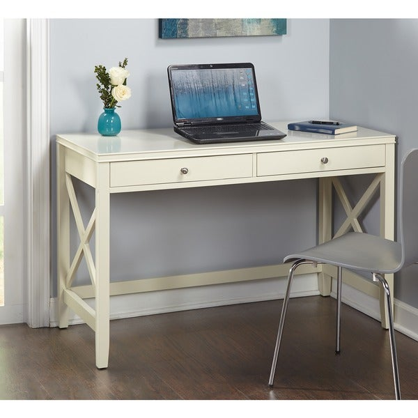 Desk Simple Simple Living Anderson X Desk  Free Shipping Today  Overstock