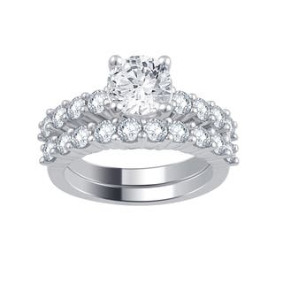 Divina 14k White Gold 3ct TDW Diamond Bridal Set|https://ak1.ostkcdn.com/images/products/12064697/P18933677.jpg?impolicy=medium