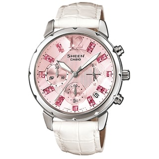 Casio Women's SHN5010L-4A2 Sheen Pink Watch