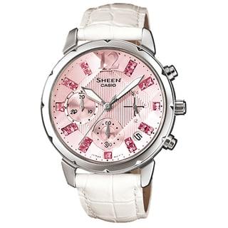 Casio Women's SHN5010L-4A2 Sheen Pink Watch