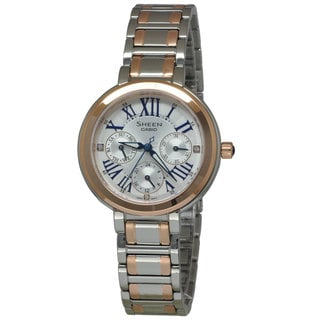Casio Women's SHE3034SG-7A Sheen Silver Watch