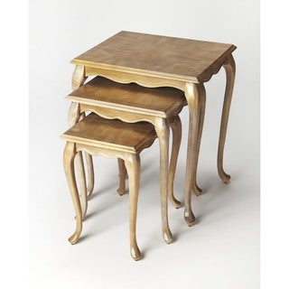 Butler Thatcher Grey Driftwood Nesting Tables