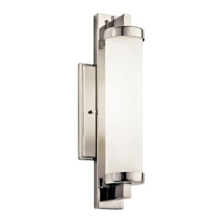 Kichler Lighting Jervis Collection 1-light Polished Chrome Fluorescent Wall Sconce