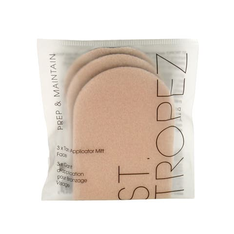 St. Tropez Prep & Maintain Tan Applicator Mitt for Face (Pack of 3)