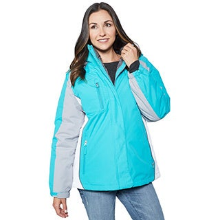 BELOW ZERO Color Block Active 3-In-1 Systems Jacket