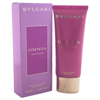 Bvlgari Omnia Amethyste 3.4-ounce Body Lotion