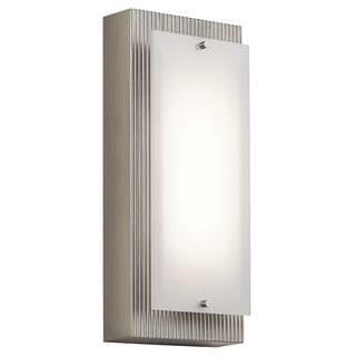 Kichler Lighting Vego Collection 1-light Brushed Nickel LED Wall Sconce