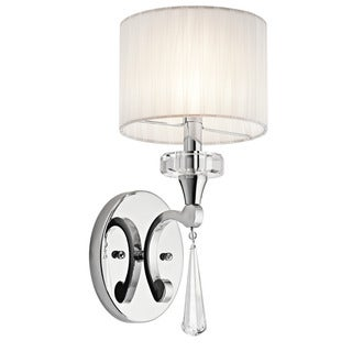 Kichler Lighting Parker Point Collection 1-light Chrome Wall Sconce