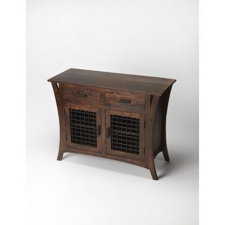 Butler Ako Brown Wood Modern Console Chest
