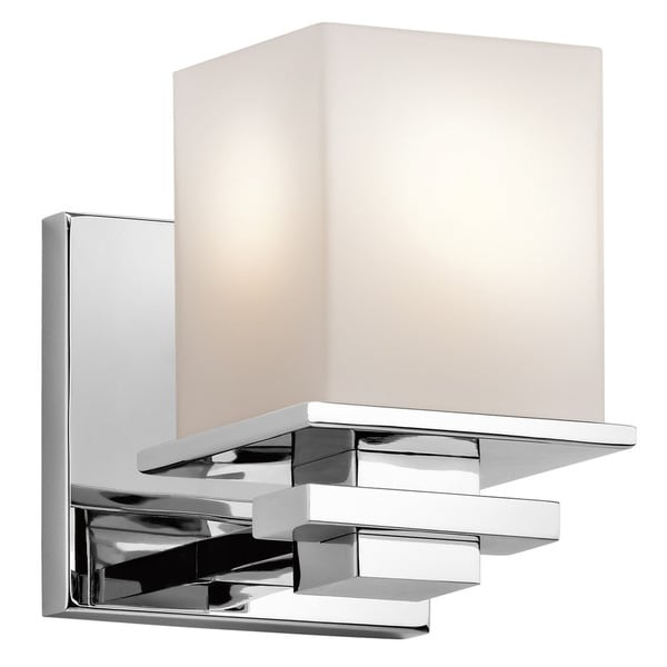Kichler Lighting Tully Collection 1 Light Chrome Wall Sconce