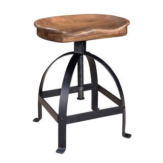 Adjustable Wood/ Iron Stool