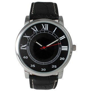Olivia Pratt Men's Classic Leather Strap Watch
