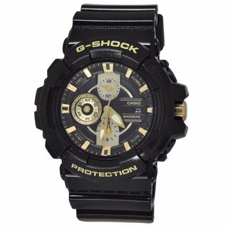 Casio Men's GAC100BR-1A G-Shock Black Watch