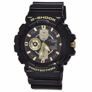 Casio Men's GAC100BR-1A G-Shock Black Watch