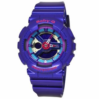 Casio Women's BA112-2A Baby-G Purple Watch