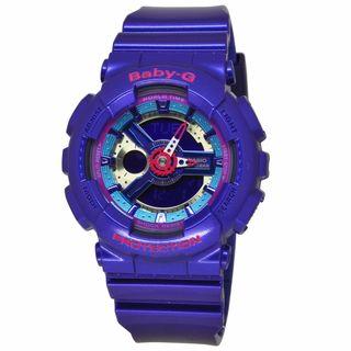 Casio Women's BA112-2A Baby-G Purple Watch